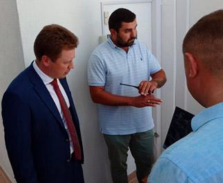 монтаж системы безопасности в музыкальной школе города Севастополь