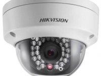 Уличная купольная IP камера видеонаблюдения HIKVISION DS-2CD2110F-IS