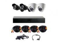 Комплект видеонаблюдения на 4 камеры CoVi Security HVK-3002 AHD KIT