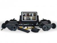 Комплект видеонаблюдения на 4 камеры GreenVision GV-K-M 7304DP-CM01 LСD